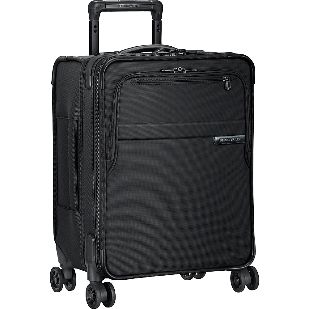 Briggs & Riley Baseline CX Commuter Expandable Spinner Black - Briggs & Riley Kids' Luggage