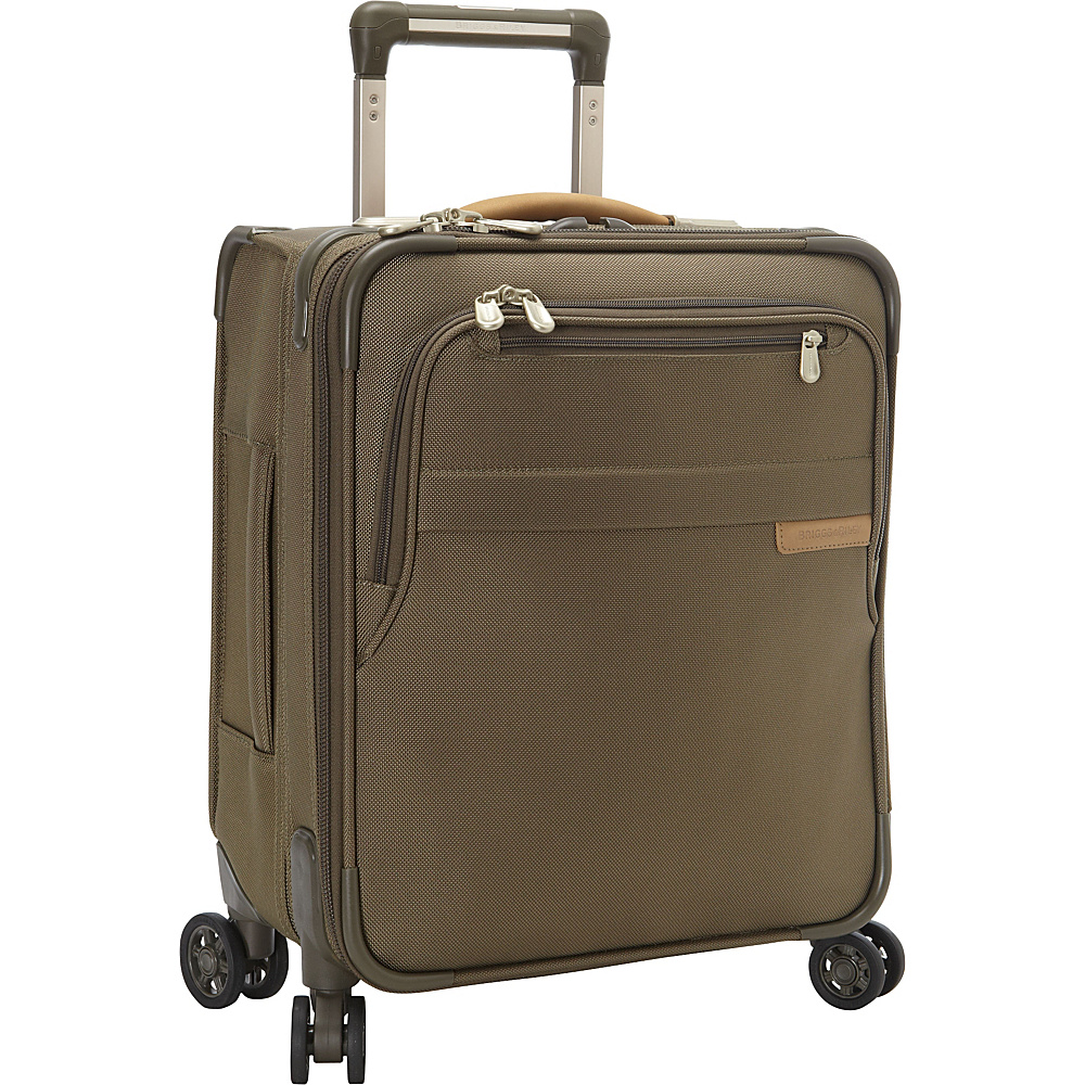 Briggs & Riley Baseline CX Commuter Expandable Spinner Olive - Briggs & Riley Kids' Luggage