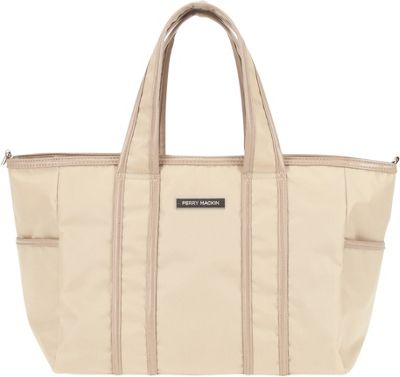 Perry Mackin Danielle Diaper Bag Beige - Perry Mackin Diaper Bags & Accessories