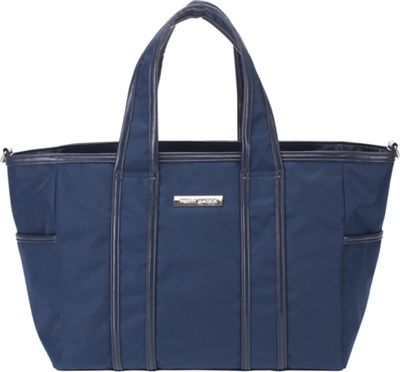 Perry Mackin Danielle Diaper Bag Navy - Perry Mackin Diaper Bags & Accessories