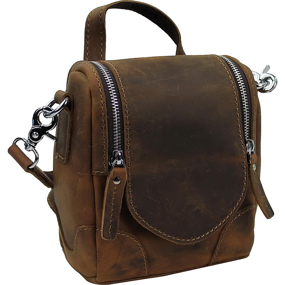 Vagabond Traveler 7.5 Leather Satchel Bag Vintage Brown - Vagabond Traveler Leather Handbags - Handbags, Leather Handbags