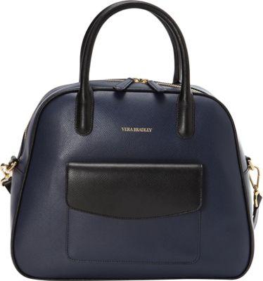Vera Bradley Bowled Over Bag Classic Navy - Vera Bradley Fabric Handbags