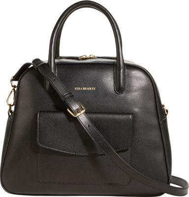 Vera Bradley Bowled Over Bag Black - Vera Bradley Fabric Handbags