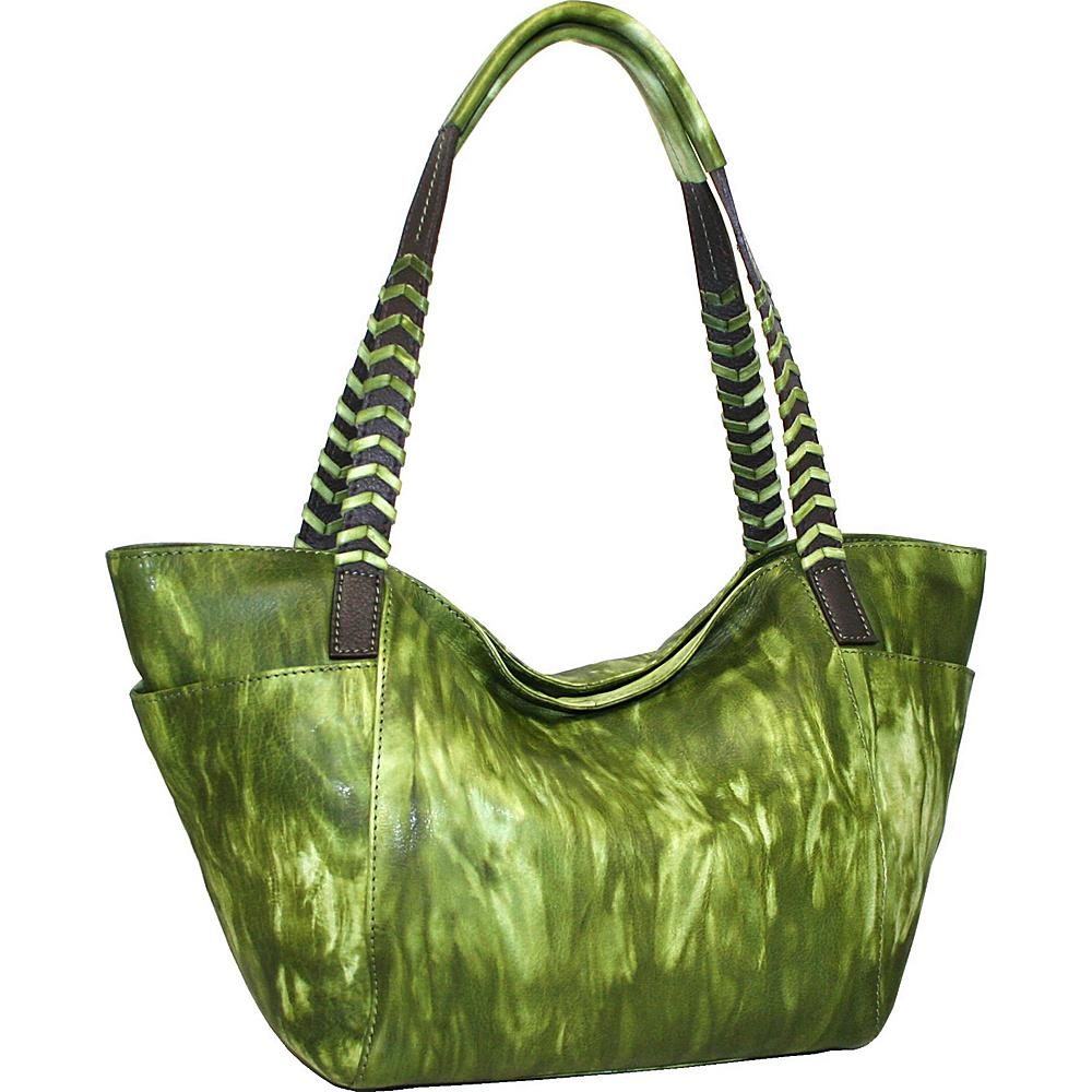 Nino Bossi Squeeze My Small Tote Alpine - Nino Bossi Leather Handbags