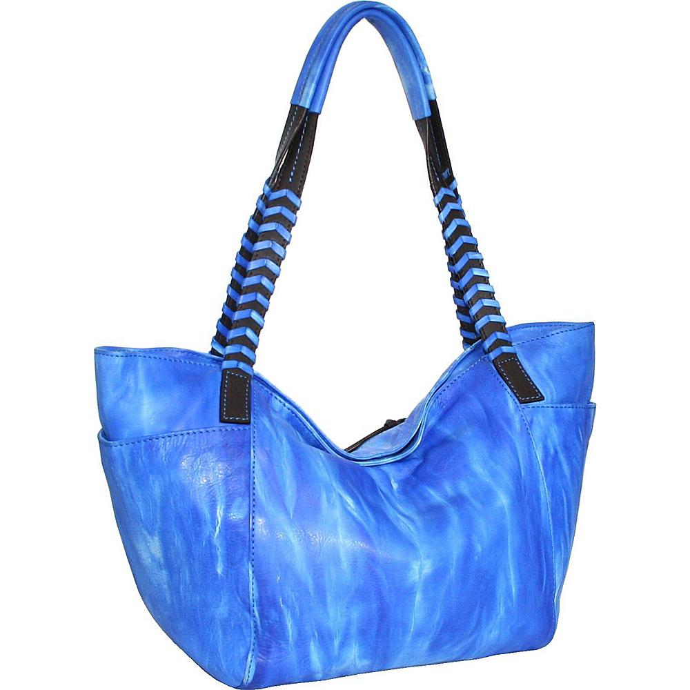 Nino Bossi Squeeze My Small Tote Denim - Nino Bossi Leather Handbags