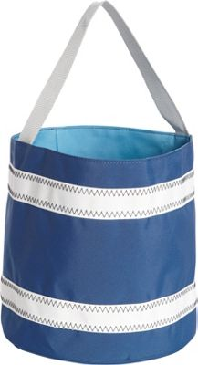 SailorBags Bucket Bag Blue/White - SailorBags All-Purpose Totes