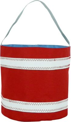 SailorBags Bucket Bag Red/White - SailorBags All-Purpose Totes