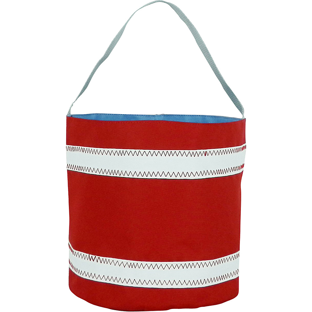 SailorBags Bucket Bag Red White SailorBags All Purpose Totes