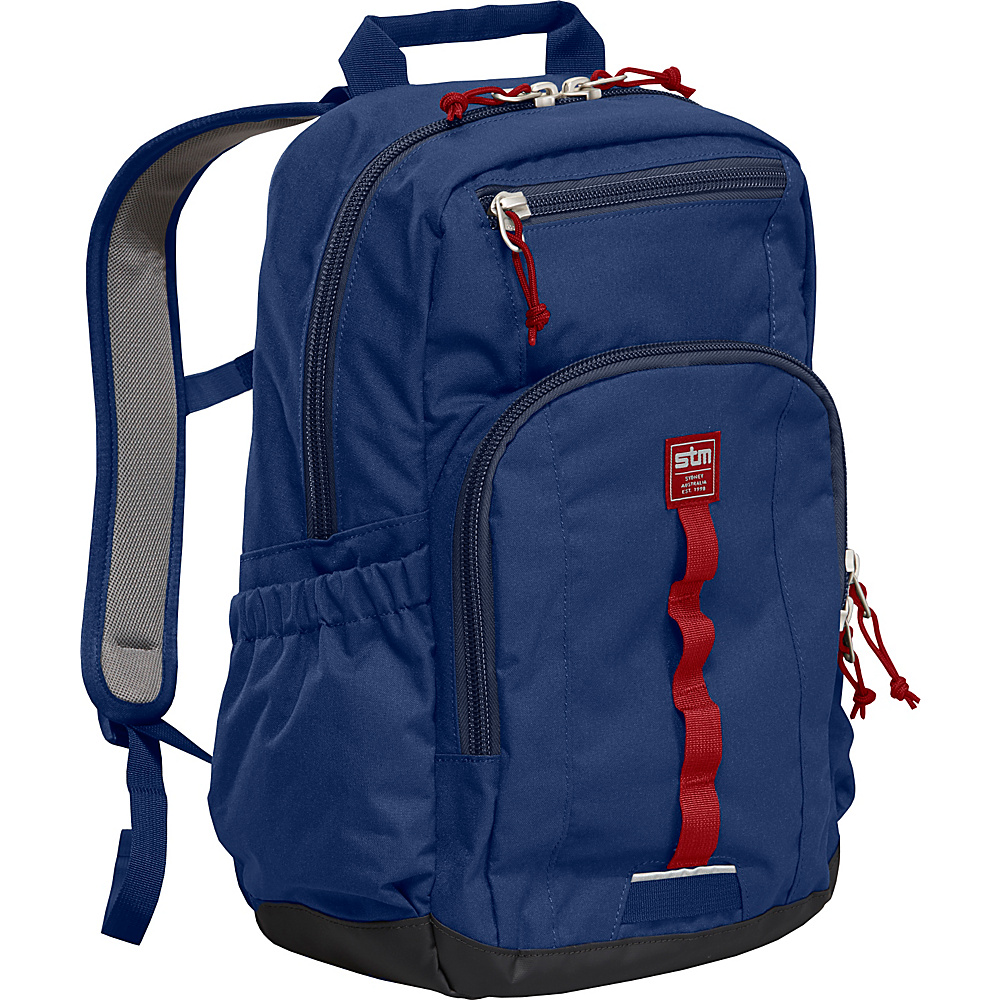 STM Bags Trestle Small Backpack Navy STM Bags Business Laptop Backpacks