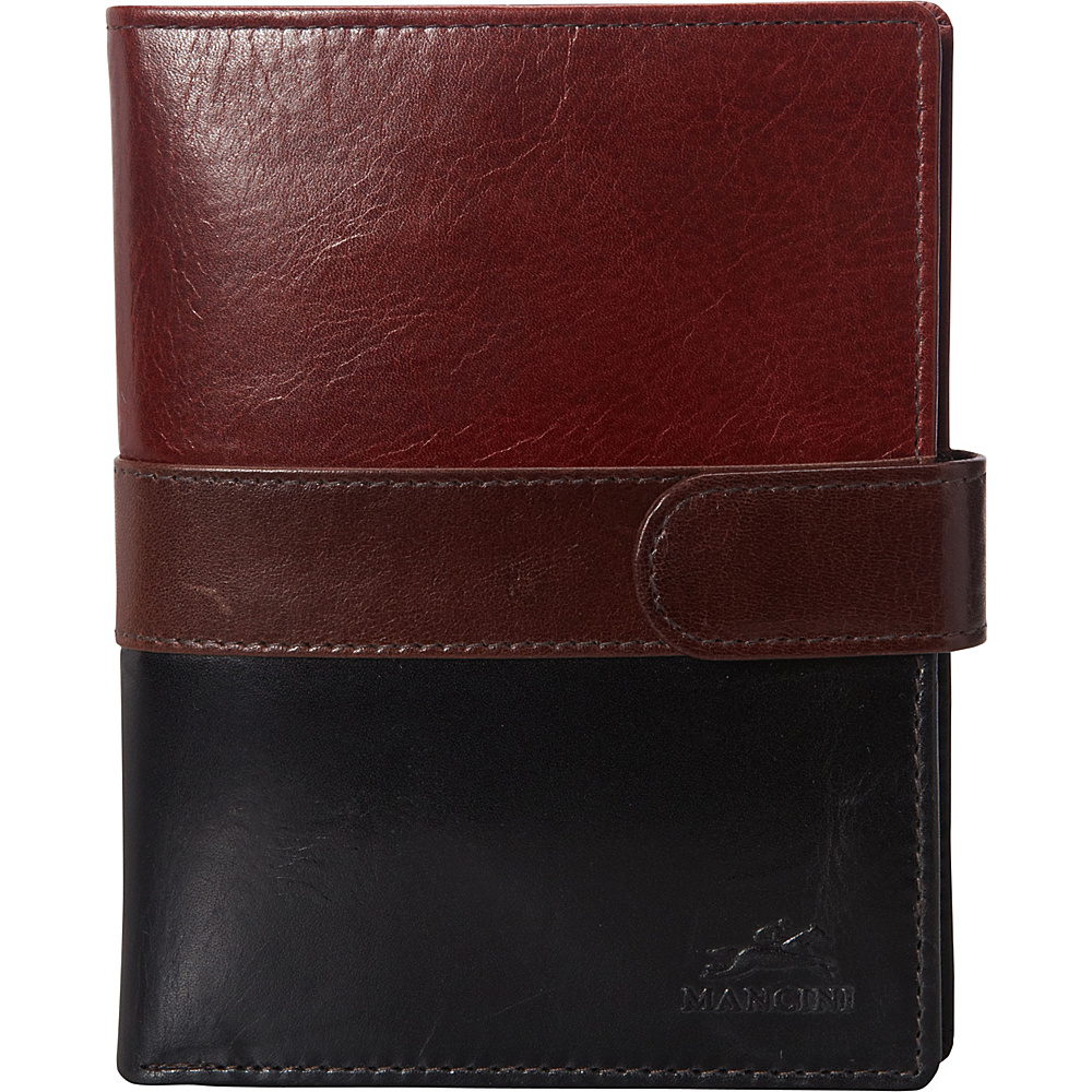 Mancini Leather Goods RFID Passport Wallet - eBags Exclusive Multi color - Mancini Leather Goods Travel Wallets