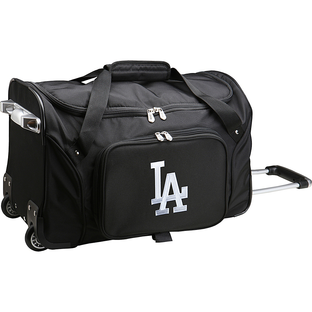 Denco Sports Luggage MLB 22 Rolling Duffel Los Angeles Dodgers - Denco Sports Luggage Rolling Duffels - Luggage, Rolling Duffels