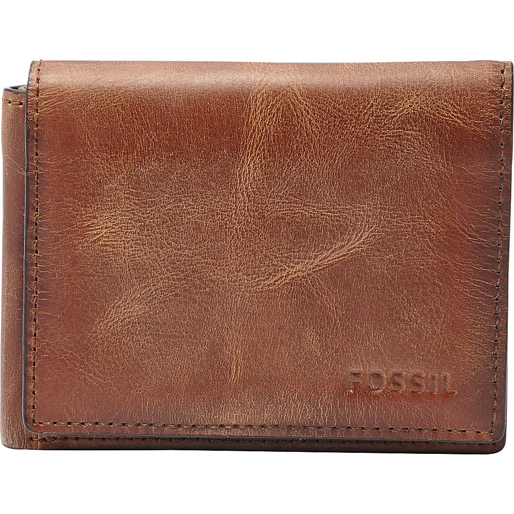 Fossil Derrick Execufold Brown - Fossil Mens Wallets - Work Bags & Briefcases, Men's Wallets