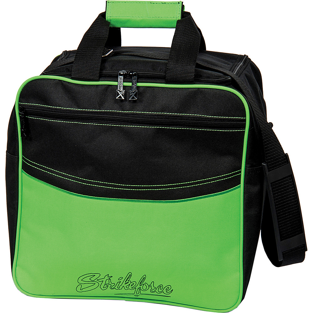 KR Strikeforce Bowling Kolors Single Tote Bag Lime White Black KR Strikeforce Bowling Bowling Bags