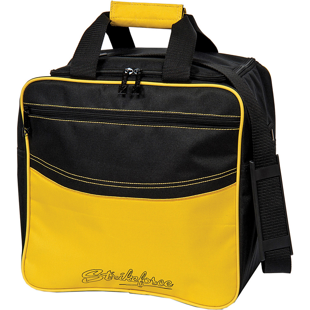 KR Strikeforce Bowling Kolors Single Tote Bag Yellow Black KR Strikeforce Bowling Bowling Bags