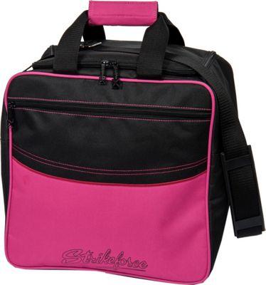 KR Strikeforce Bowling Kolors Single Tote Bag Pink/White/Black - KR Strikeforce Bowling Bowling Bags