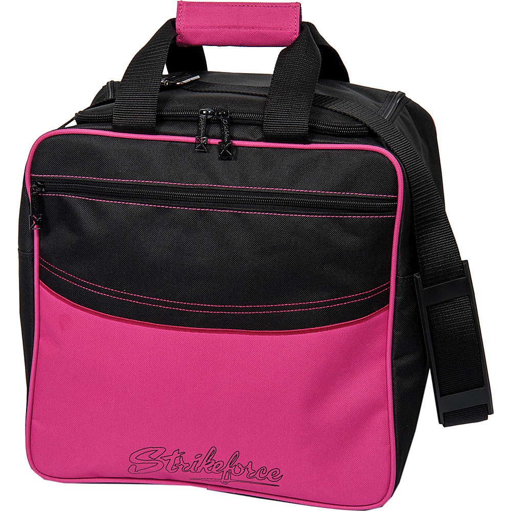 KR Strikeforce Bowling Kolors Single Tote Bag Pink White Black KR Strikeforce Bowling Bowling Bags