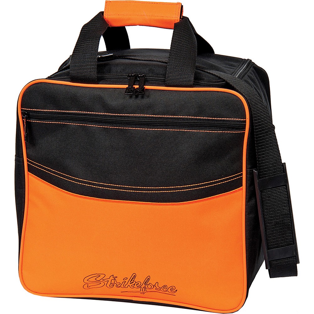 KR Strikeforce Bowling Kolors Single Tote Bag Orange Black KR Strikeforce Bowling Bowling Bags