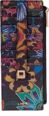Lodis Vanessa Print Credit Card Case Multi - Lodis Women's Wallets
