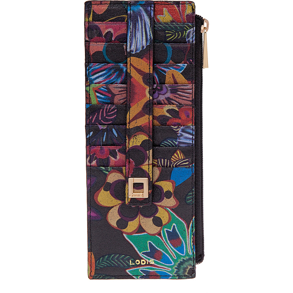 Lodis Vanessa Print Credit Card Case Multi Lodis Women s Wallets
