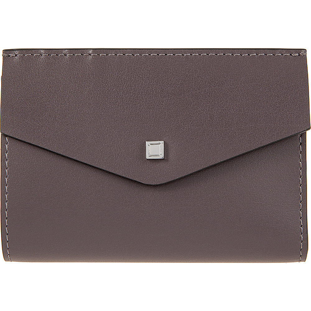 Lodis Blair Unlined Rachel French Purse Lava/Taupe - Lodis Womens Wallets - Women's SLG, Women's Wallets