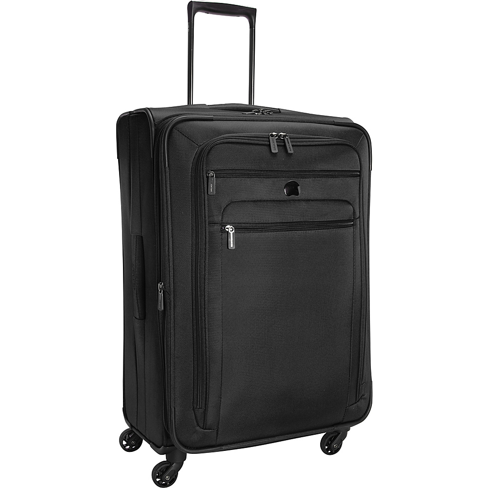 Delsey Helium Sky 2.0 25 Exp. Spinner Trolley Black Delsey Softside Checked