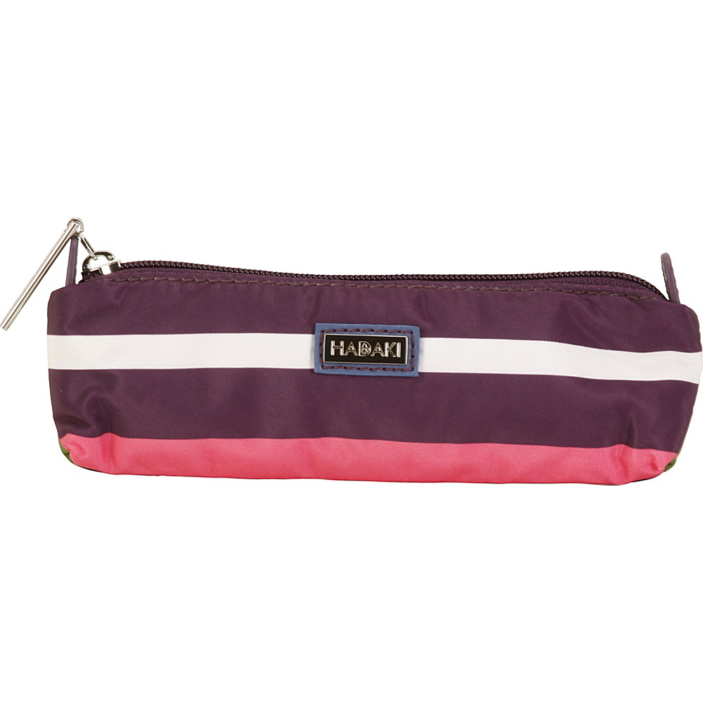 Hadaki Pencil/Brush Pouch Stripes - Hadaki Travel Organizers - Travel Accessories, Travel Organizers