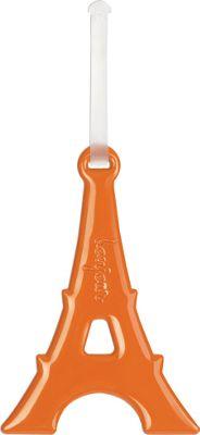 ALIFE DESIGN Alife Design Eiffel Tower Luggage Tags Orange - ALIFE DESIGN Luggage Accessories