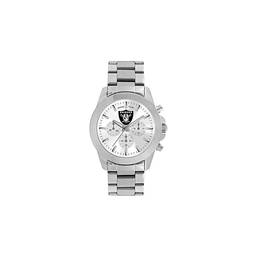Game Time Knock-Out NFL Watch Oakland Raiders - Game Time Watches