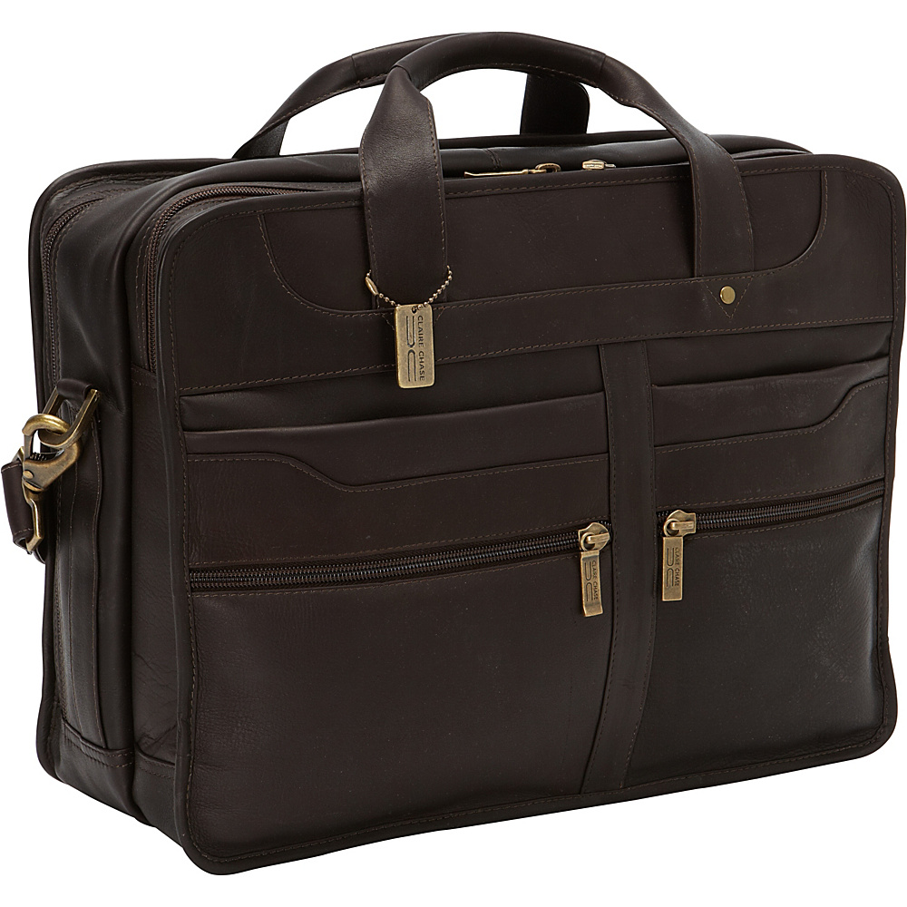 ClaireChase Diamond Computer Briefcase Cafe - ClaireChase Non-Wheeled Business Cases