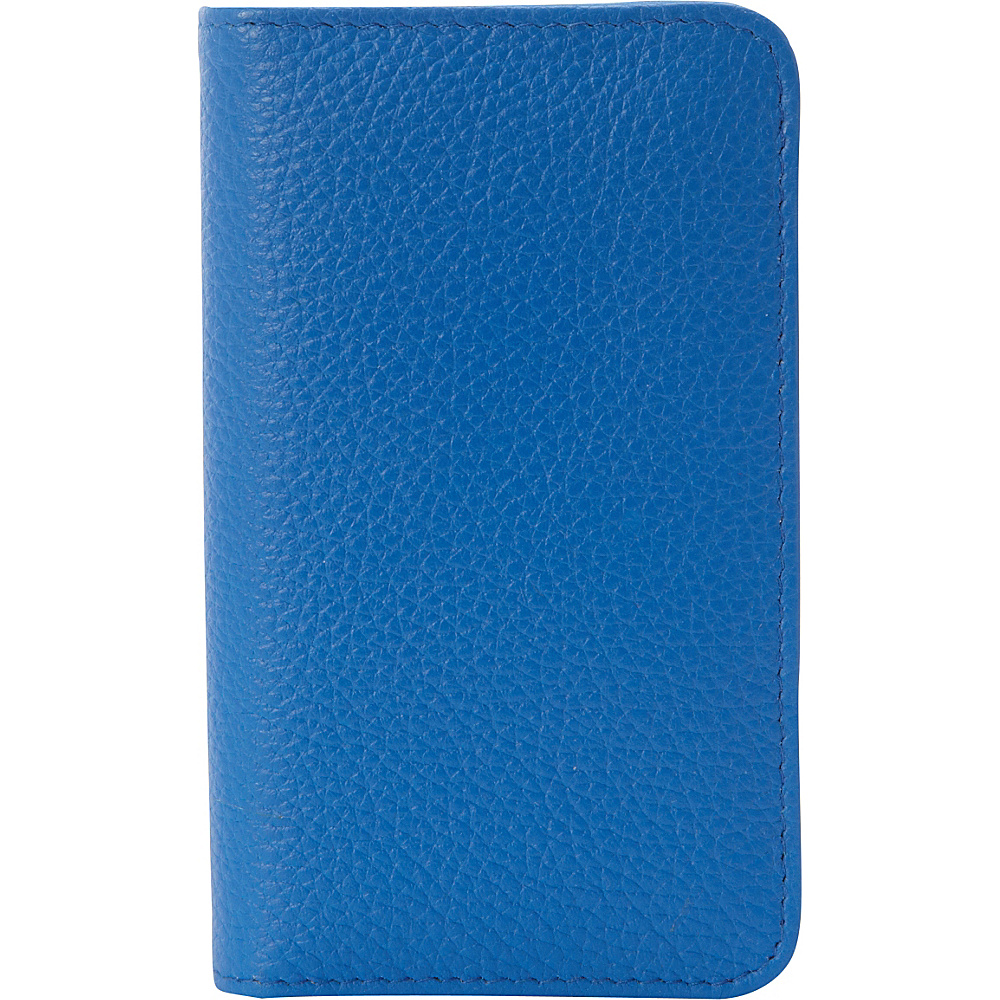 Buxton Hudson Pik-Me-Up Snap Card Case - Exclusive Colors Strong Blue - Buxton Womens Wallets - Women's SLG, Women's Wallets