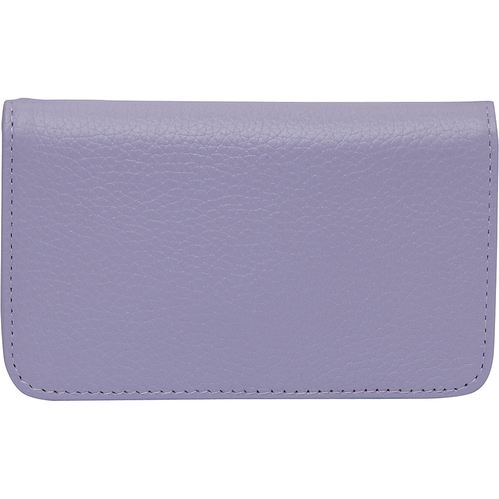 Buxton Hudson Pik-Me-Up Snap Card Case - Exclusive Colors Wisteria - Buxton Womens Wallets - Women's SLG, Women's Wallets