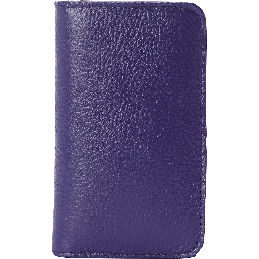 Buxton Hudson Pik-Me-Up Snap Card Case - Exclusive Colors Mulberry - Buxton Womens Wallets - Women's SLG, Women's Wallets