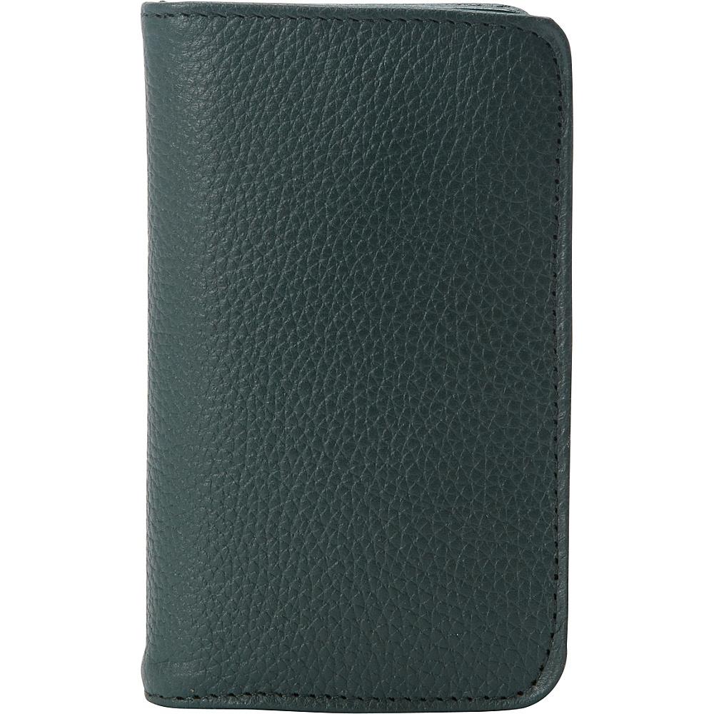 Buxton Hudson Pik-Me-Up Snap Card Case - Exclusive Colors Pineneedle - Buxton Womens Wallets - Women's SLG, Women's Wallets