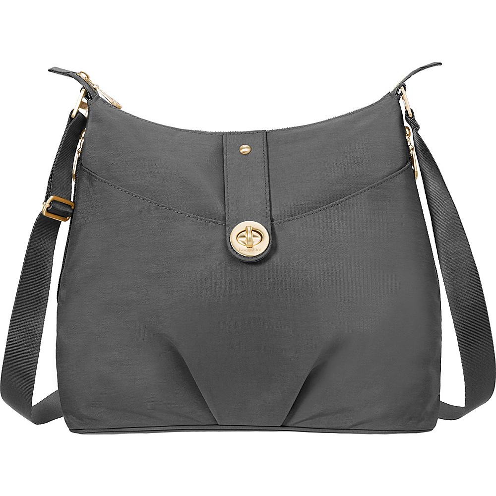baggallini Gold Helsinki Bagg Charcoal - baggallini Fabric Handbags - Handbags, Fabric Handbags