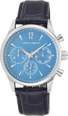 Vince Camuto Watches The Chairman Watch Light Blue/Silver/Navy - Vince Camuto Watches Watches