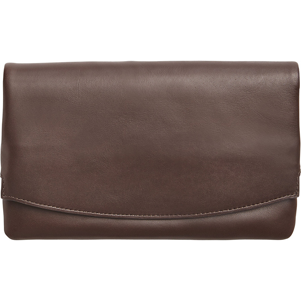 Skagen Anne Marie Flap Clutch Espresso Skagen Women s Wallets