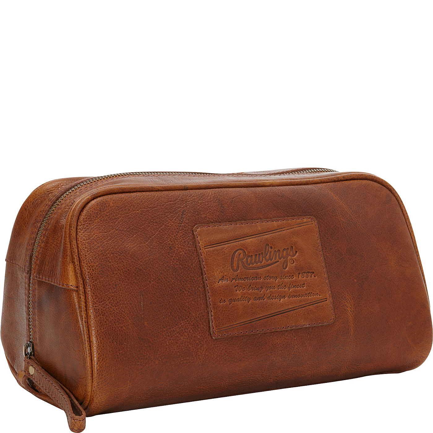 04ceb362dca5 Rawlings Rugged Leather Travel Kit on PopScreen