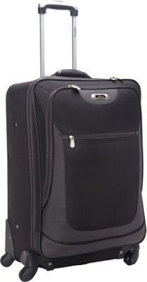 Skyway Epic 24 inch 4-Wheel Expandable Upright Black - Skyway Softside Checked