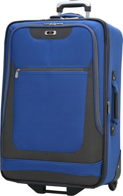 Skyway Epic 24 inch 4-Wheel Expandable Upright Surf Blue - Skyway Softside Checked