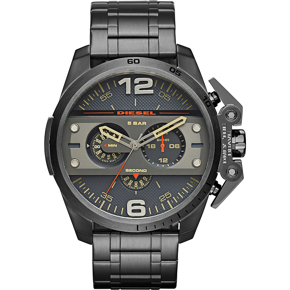 Diesel Watches Ironside Chronograph Stainless Steel Watch Grey - Diesel Watches Watches