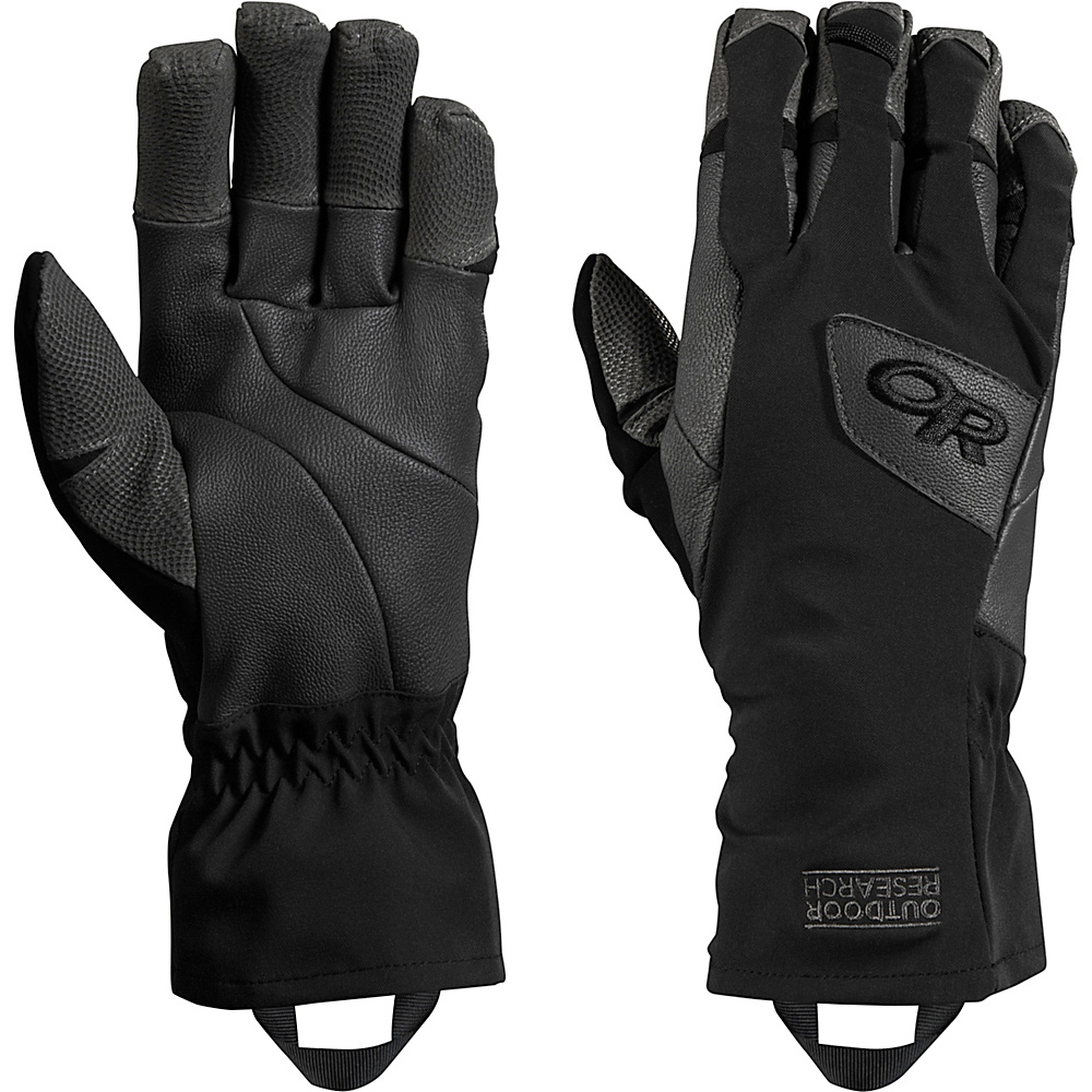 Outdoor Research Super Vert Gloves XL - Black/Charcoal - Outdoor Research Hats/Gloves/Scarves - Fashion Accessories, Hats/Gloves/Scarves