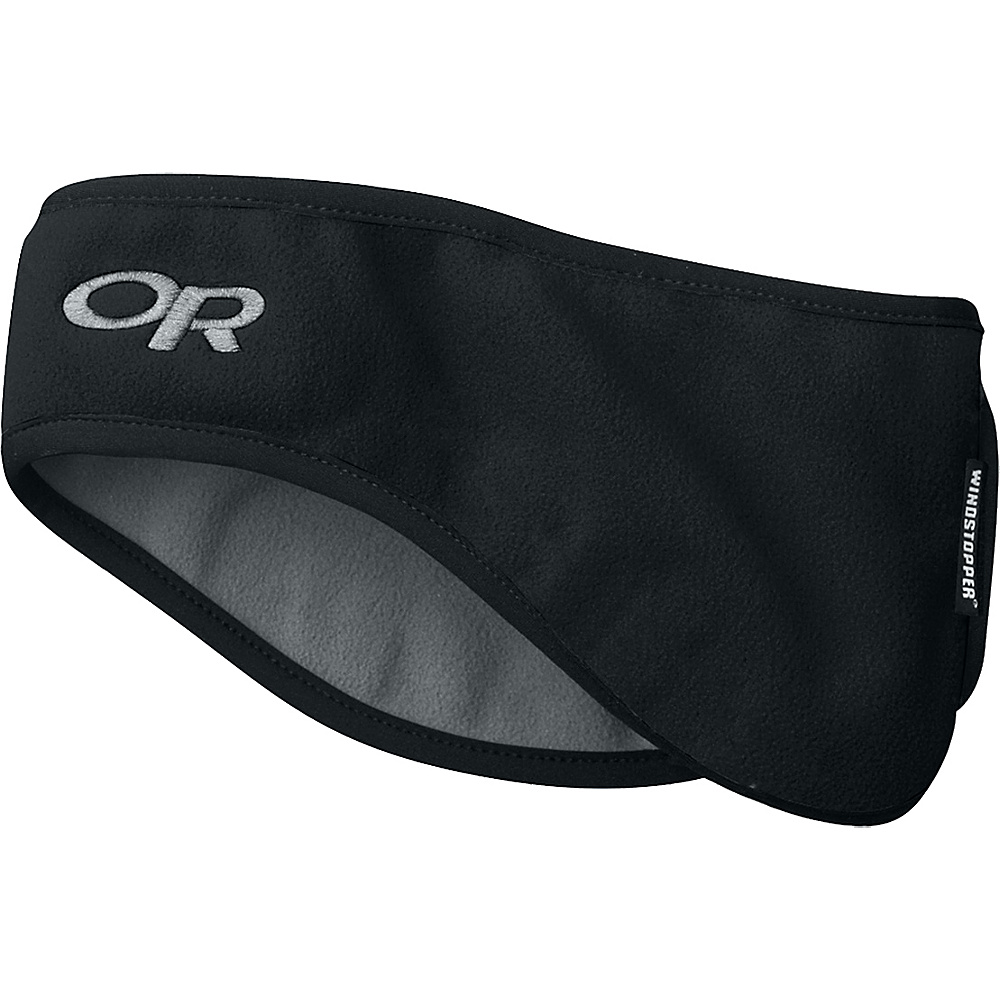 Outdoor Research Ear Band L - Black - Outdoor Research Hats/Gloves/Scarves - Fashion Accessories, Hats/Gloves/Scarves