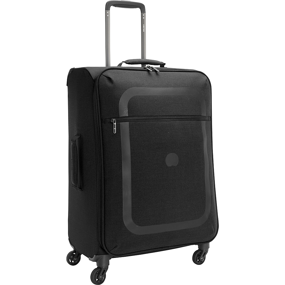 Delsey Dauphine 23 Spinner Trolley Black Delsey Softside Checked