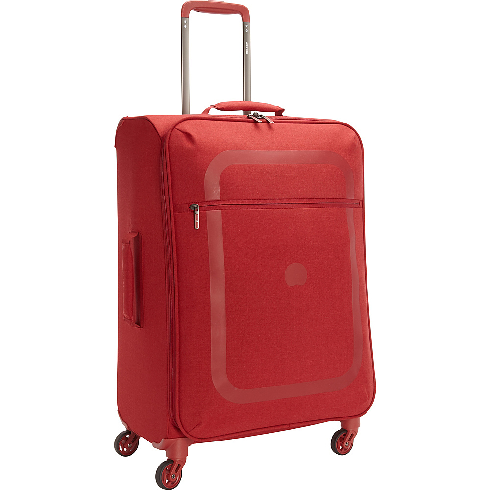 Delsey Dauphine 23 Spinner Trolley Red 04 Delsey Softside Checked