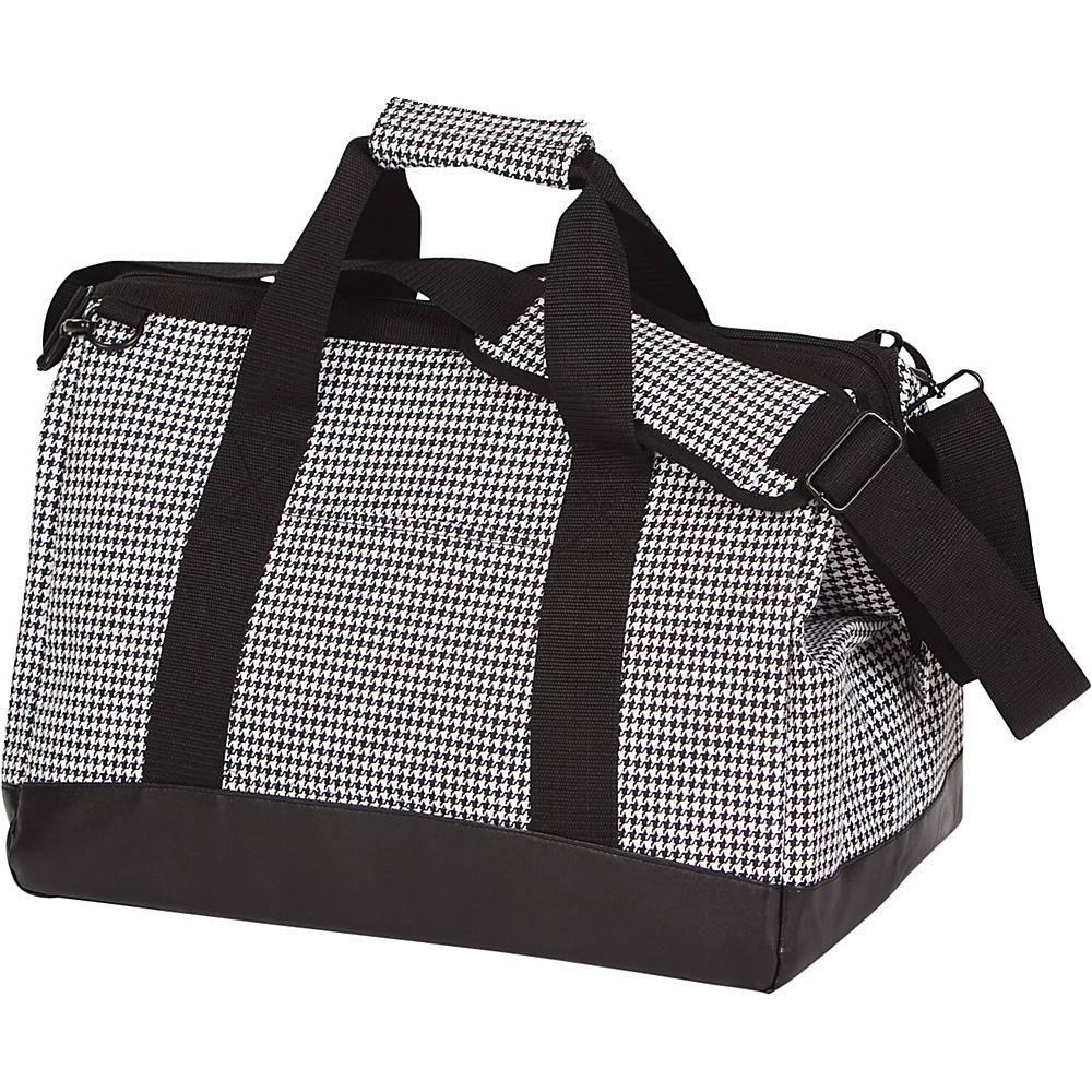 Image of Picnic Plus Haversack Cooler Houndstooth - Picnic Plus Outdoor Coolers