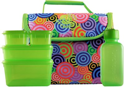 New Wave Litter Free Lunch Box Pink - New Wave Travel Coolers