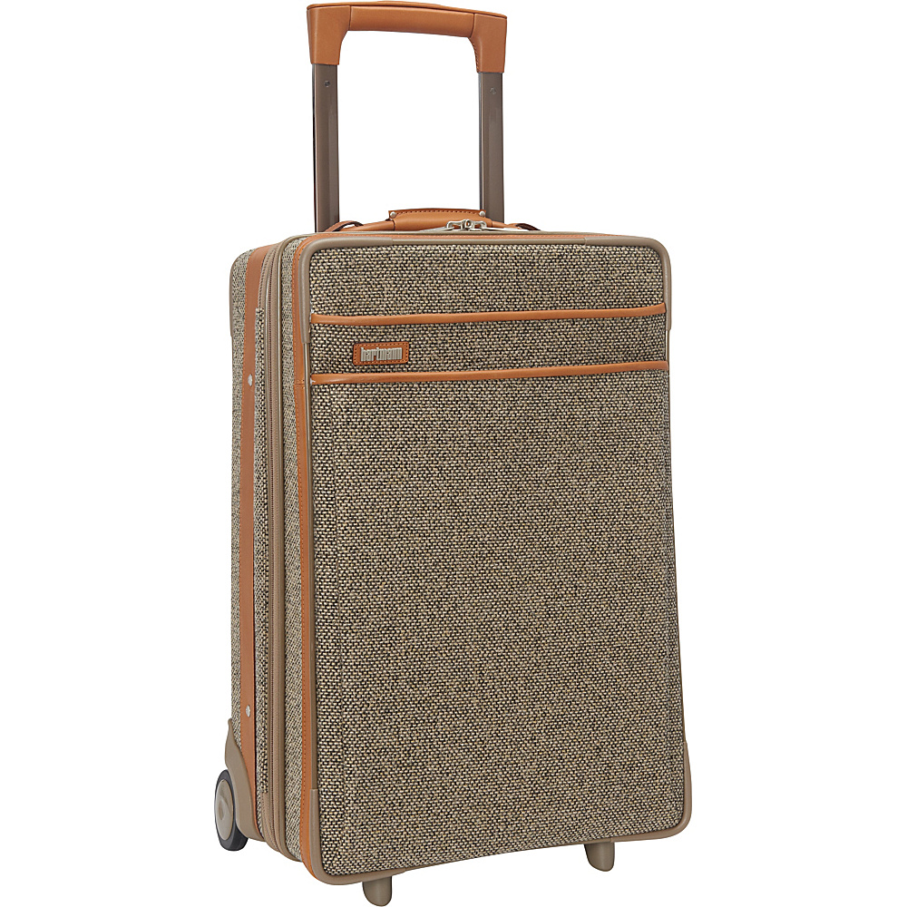 "Hartmann Luggage Tweed Collection 22"" Carry-On Expandable Upright Tweed - Hartmann Luggage Softside Carry-On"