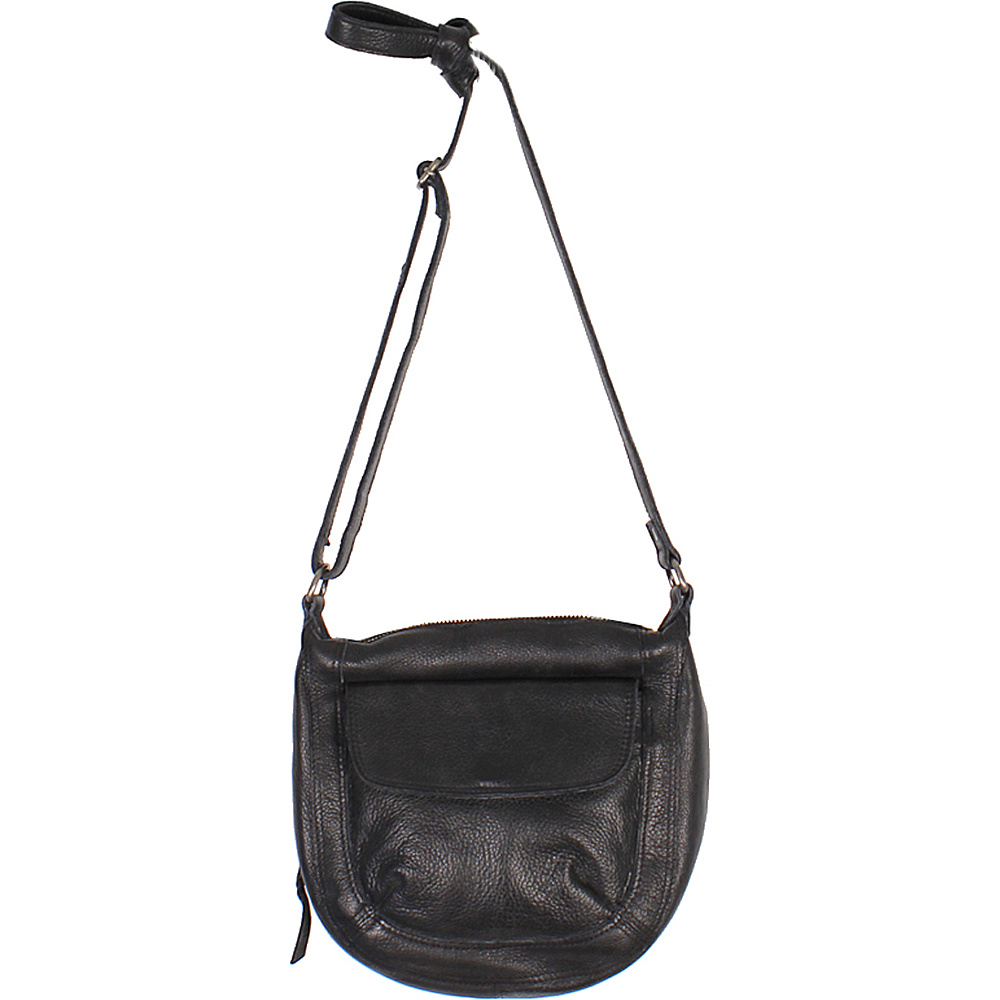 Latico Leathers Jay Crossbody Black - Latico Leathers Leather Handbags - Handbags, Leather Handbags