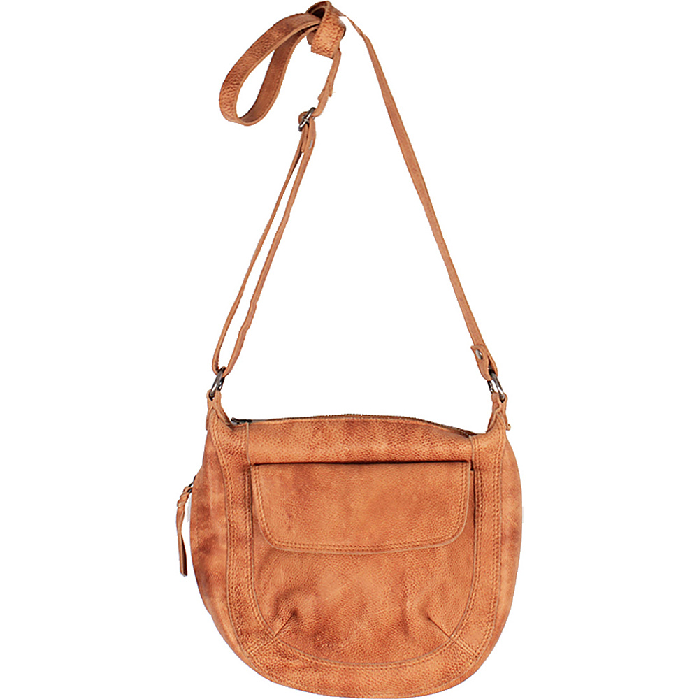 Latico Leathers Jay Crossbody Tan - Latico Leathers Leather Handbags - Handbags, Leather Handbags