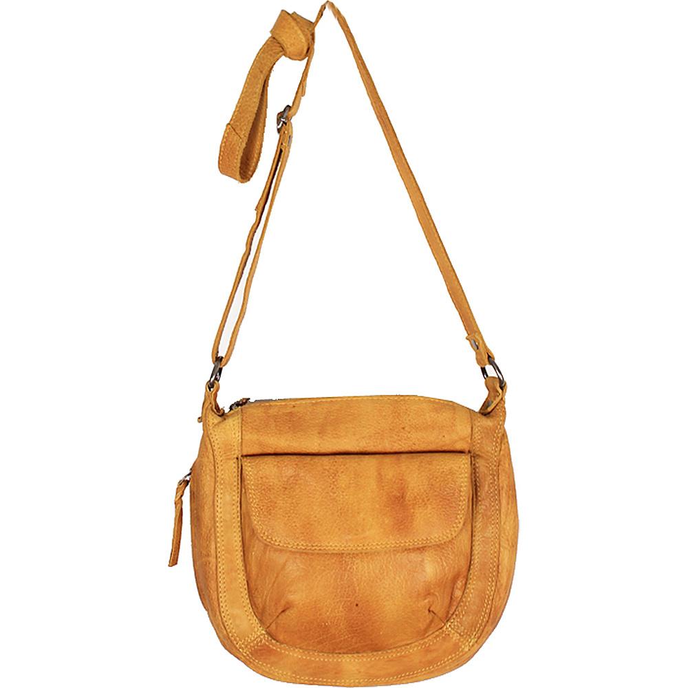 Latico Leathers Jay Crossbody Yellow - Latico Leathers Leather Handbags - Handbags, Leather Handbags
